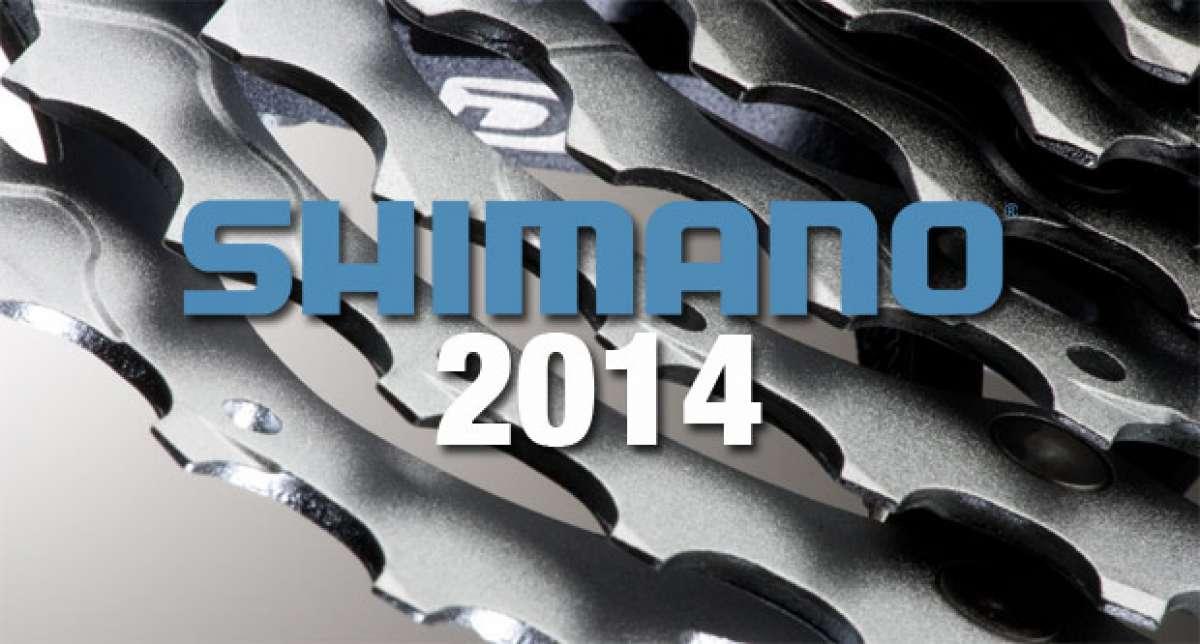 Catálogo de Shimano 2014. Toda la gama de componentes Shimano para la temporada 2014