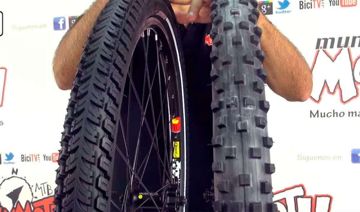 Cómo elegir las cubiertas más adecuadas para nuestra bicicleta de montaña