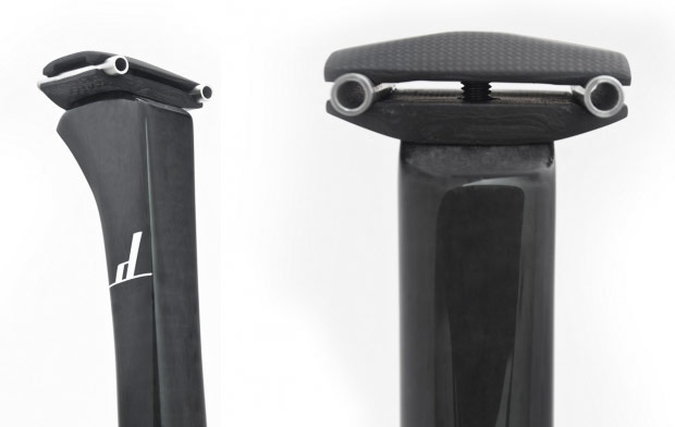 Las nuevas tijas de carbono ultraligeras (y ultracaras) de Dash Cycles