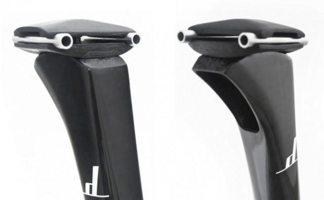 Las nuevas tijas de carbono ultraligeras (y ultracaras) de Dash Cycles