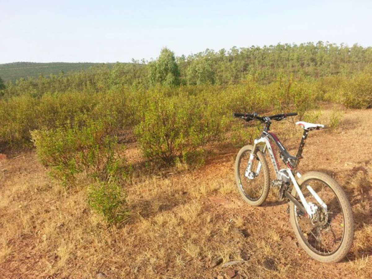 La foto del día en TodoMountainBike: 'Sierra de Manchita (Badajoz, España)'
