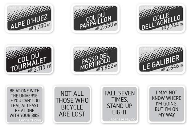 Didits: Etiquetas permanentes de alta calidad para nuestra bicicleta