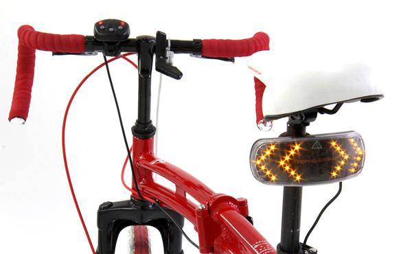 Los indicadores luminosos con tecnología LED para guantes de Doppelganger
