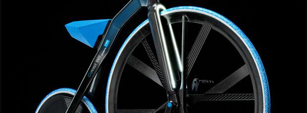 E-Velocipede: Una bicicleta del siglo XIX con la tecnología del siglo XXI