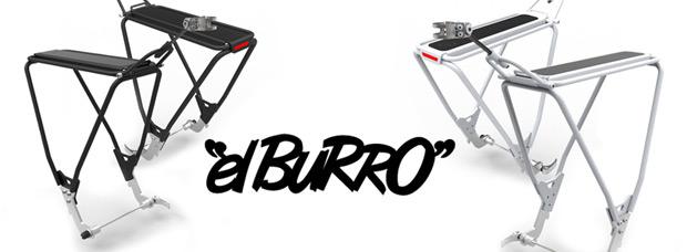 ElBurro: Un práctico portabultos específico para bicicletas de doble suspensión
