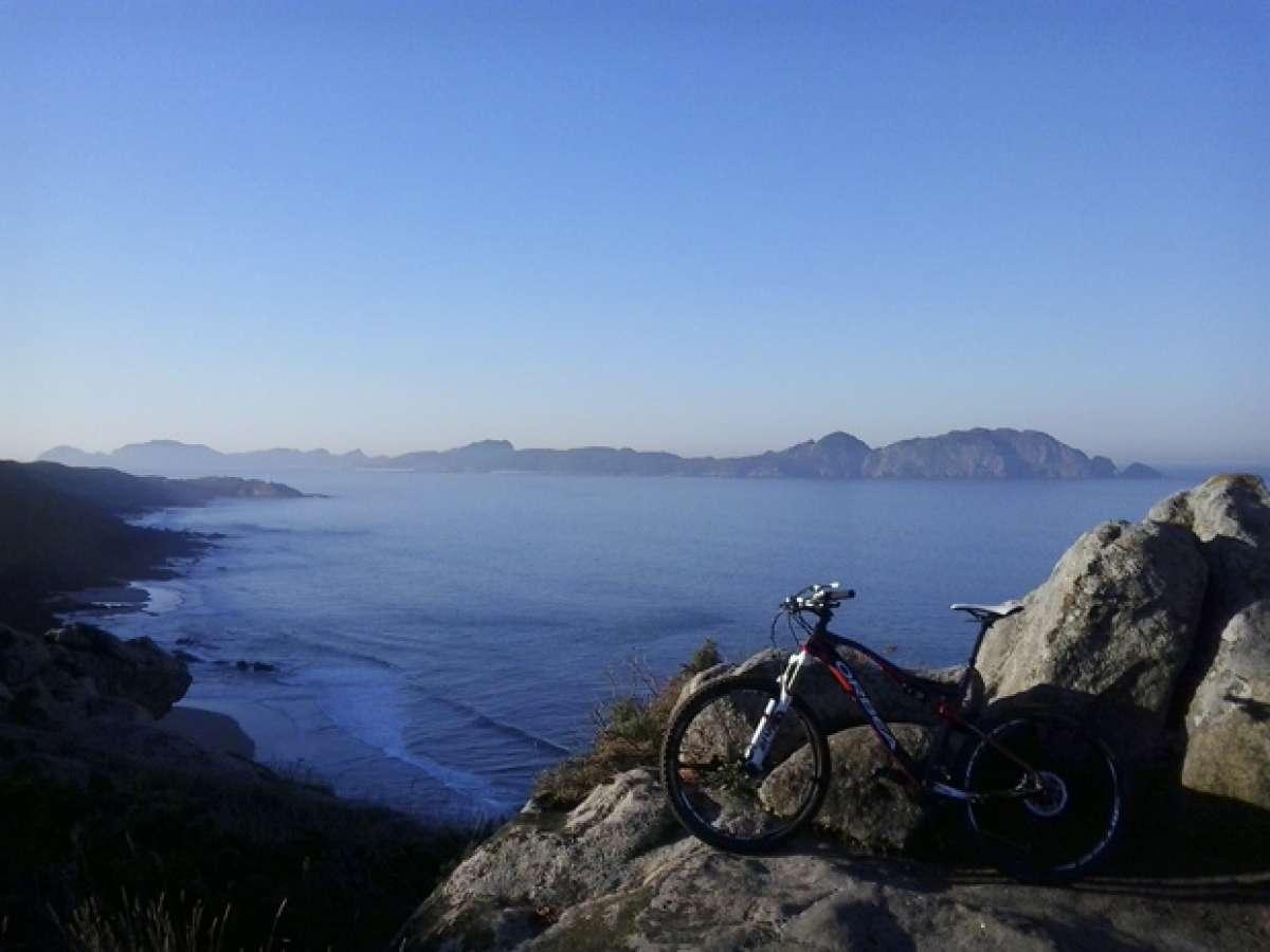 """La foto del día en TodoMountainBike: """"Costa da Vela (Cangas, Pontevedra)"""""""