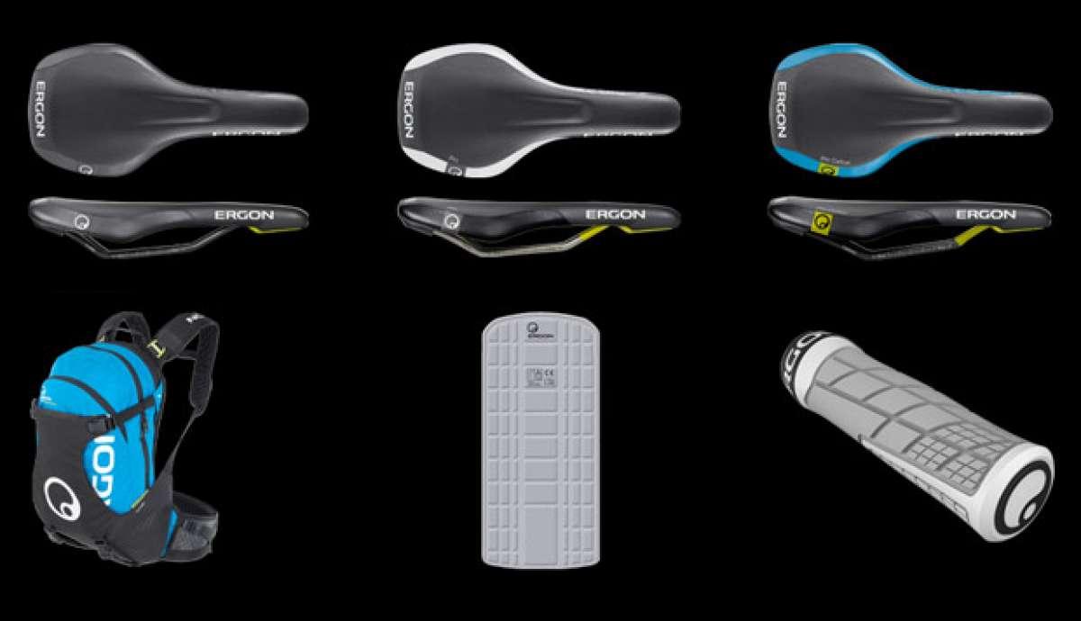 Nuevos sillines Ergon SME3, puños Ergon GE1 y mochila Ergon BA3 Evo para 2014
