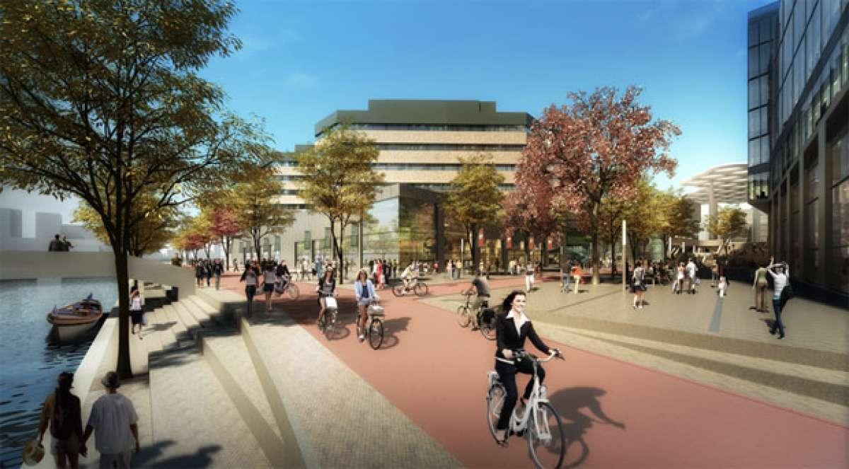 El estacionamiento de bicicletas más grande del mundo, en Holanda