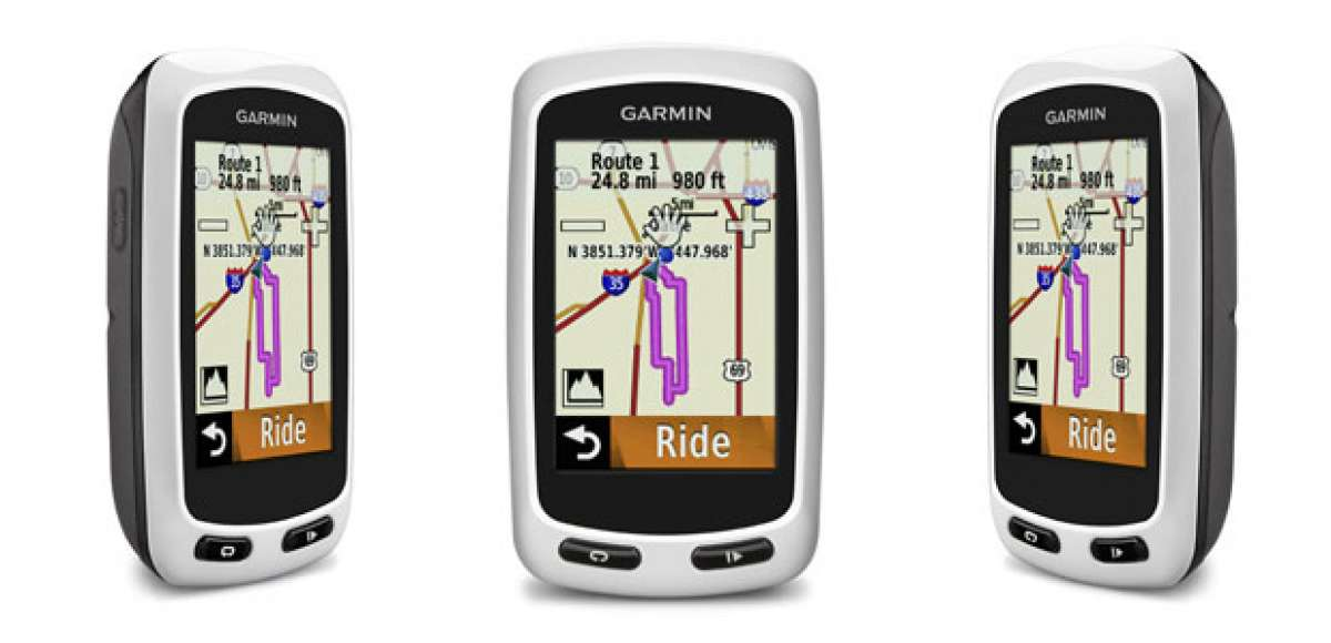 Garmin 2014: Nuevos navegadores GPS Garmin Edge Touring y Garmin Edge Touring Plus