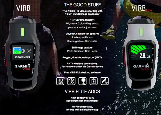Cámaras deportivas Garmin VIRB y VIRB Elite: Primer contacto