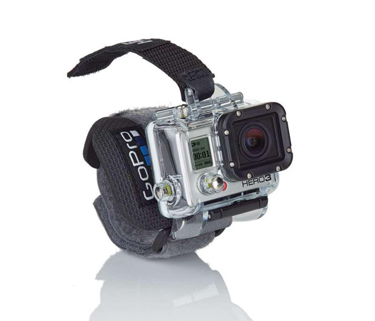 Nuevos accesorios de montaje, carcasa y muñequera del fabricante GoPro