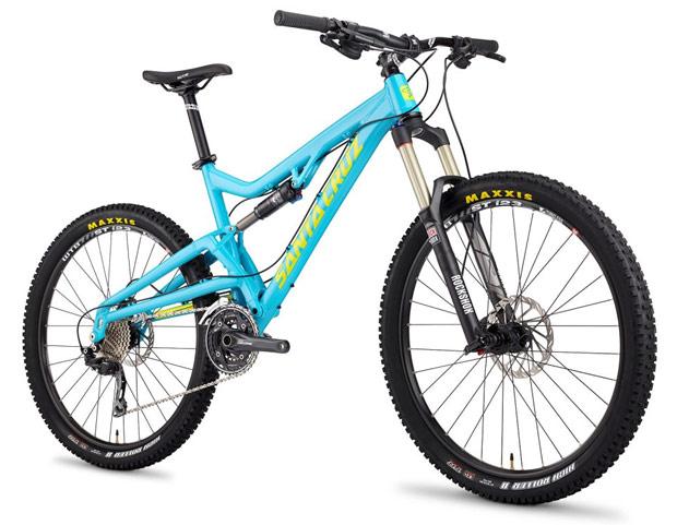 La nueva Santa Cruz Heckler con ruedas de 27.5 pulgadas de la gama 2014