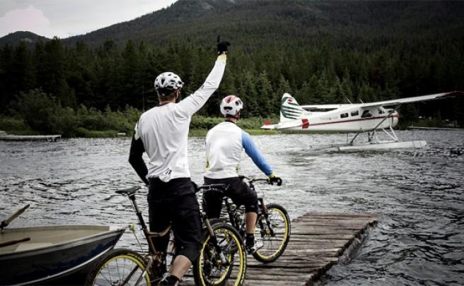 Video: Practicando Mountain Bike en Spruce Lake (Canadá) con Fabien Barel y Jeff Lenosky