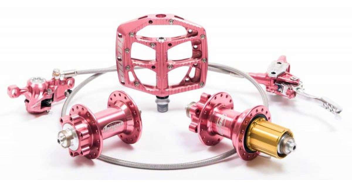 """""""Hope Pink"""": Nueva edición limitada de componentes Hope en un llamativo anodizado Rosa"""