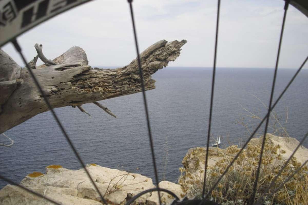 La foto del día en TodoMountainBike: 'El prisma del ciclista'
