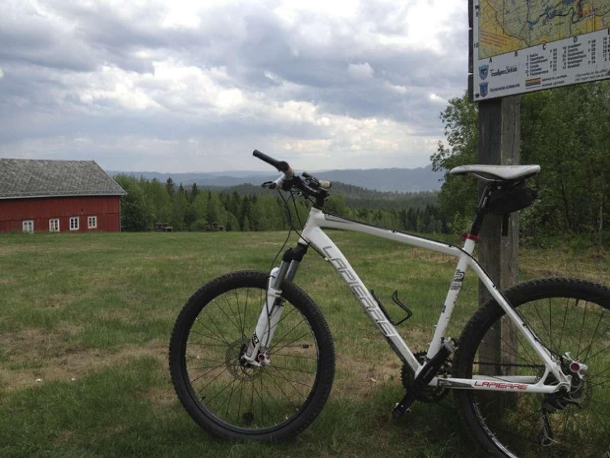 La foto del día en TodoMountainBike: 'Alrededores de Trondheim (Noruega)'