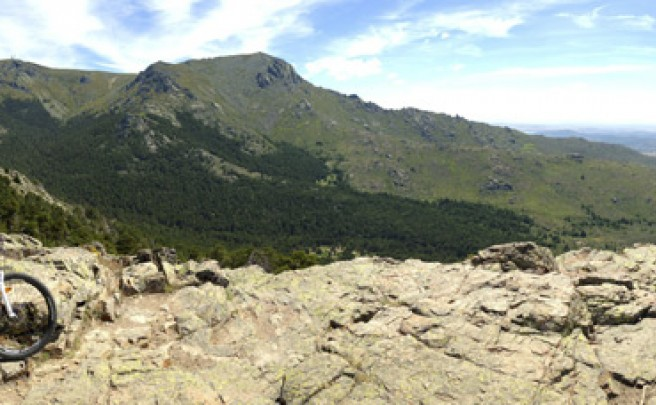 La foto del día en TodoMountainBike: 'Panorámica del Valle de la Barranca'