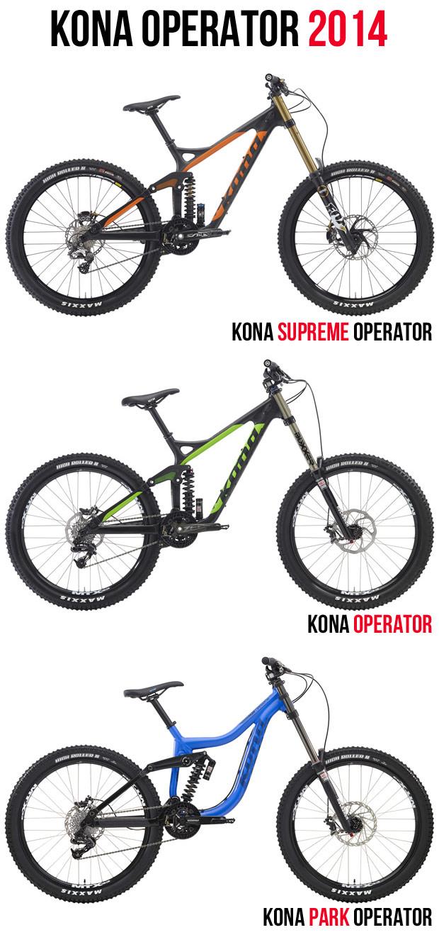 Kona 2014: Todas las novedades de Kona para la próxima temporada
