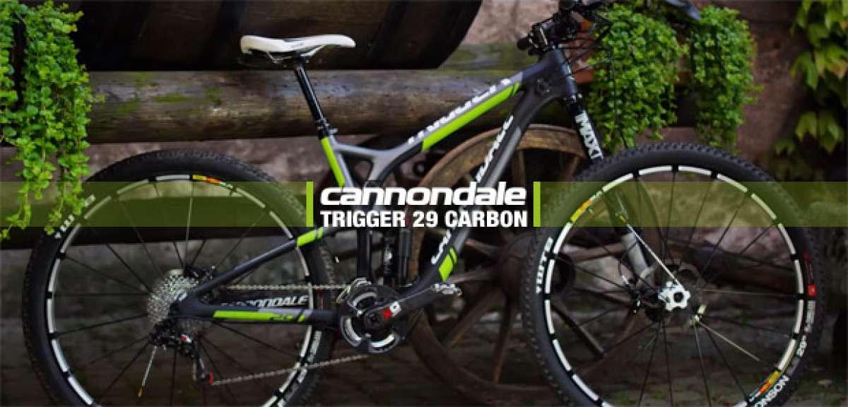 La nueva Cannondale Trigger 29 Carbon de 2014 en acción