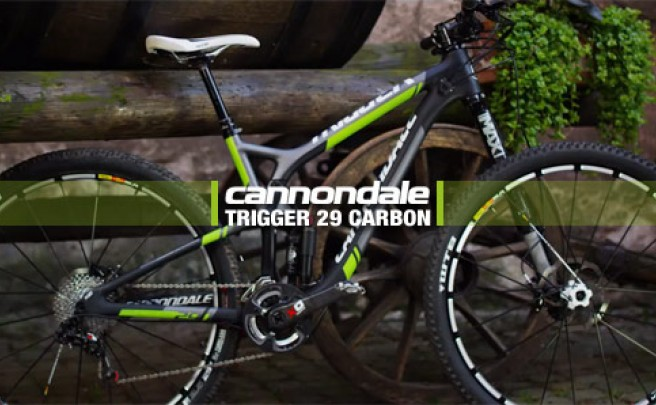 Video: La nueva Cannondale Trigger 29 Carbon de 2014 en acción