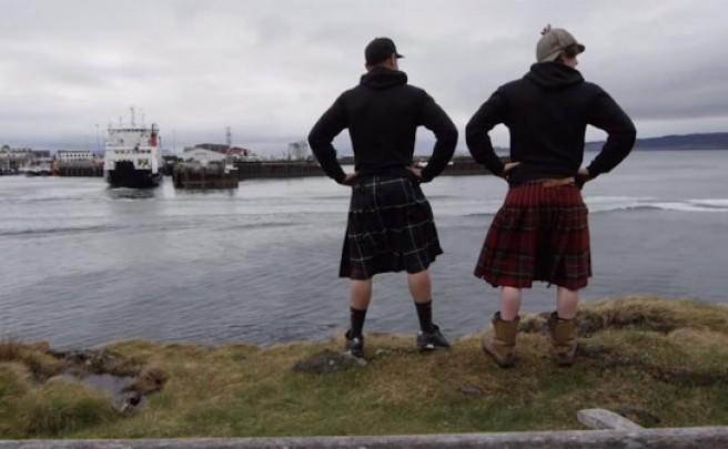 Video: Practicando Mountain Bike por las montañas de Escocia con Fabien Barel y Joe Barnes