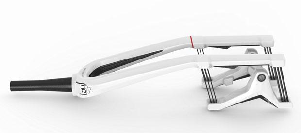 Lauf TR29: Una horquilla con 60 milímetros de recorrido y 980 gramos de peso