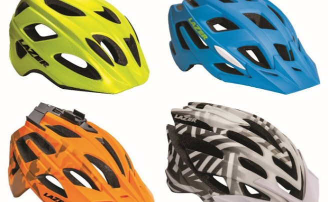Los nuevos cascos de Lazer para la temporada 2014