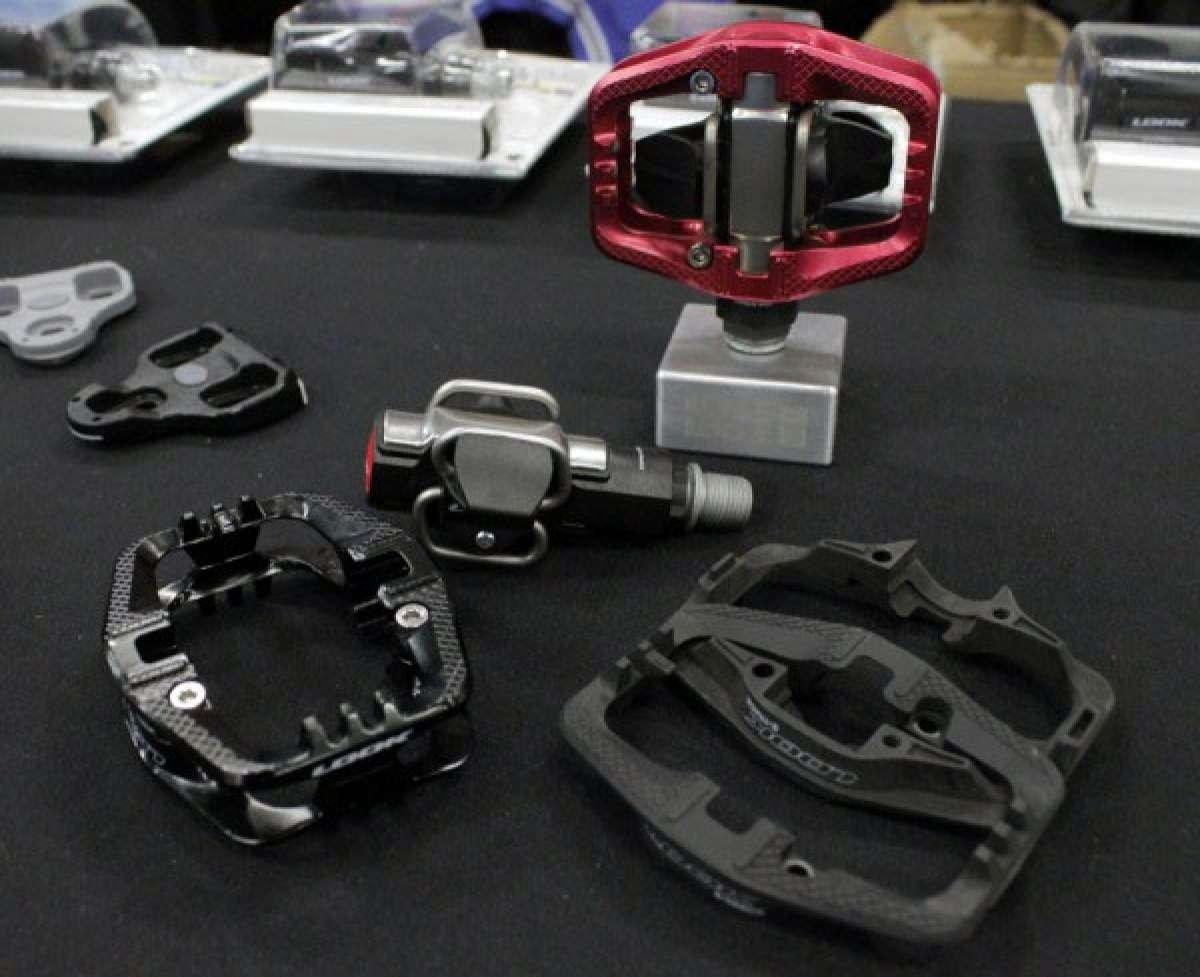 Nuevas plataformas adaptables de aluminio para los pedales S-Track de Look
