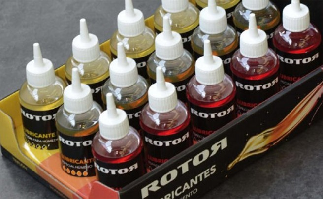 La nueva gama de lubricantes Rotor para bicicletas