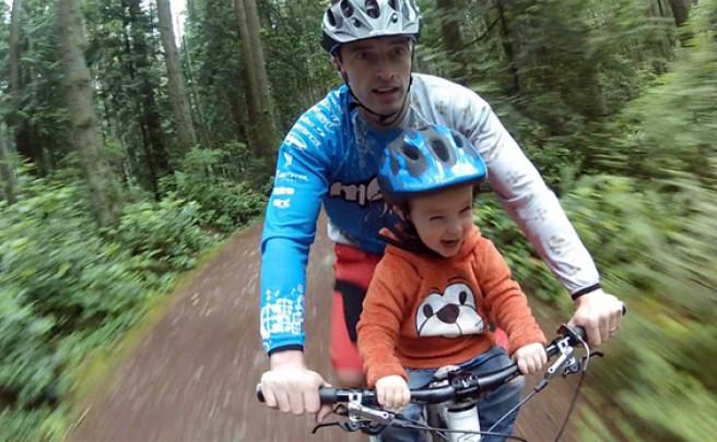 Mac Ride: Un práctico sillín acoplable para llevar a nuestros pequeños de ruta