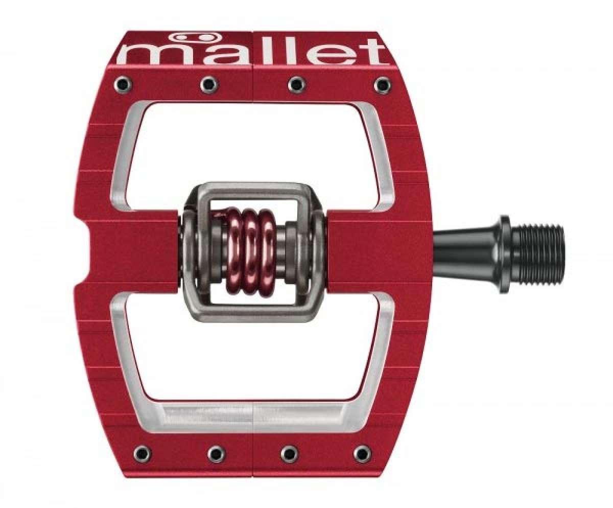 Los nuevos y renovados pedales CrankBrothers Mallet para DH y competición