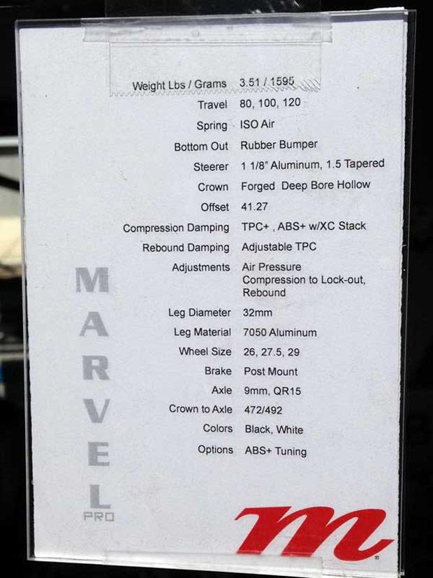 Nuevos modelos de horquillas Manitou Marvel y Manitou Minute para 2014