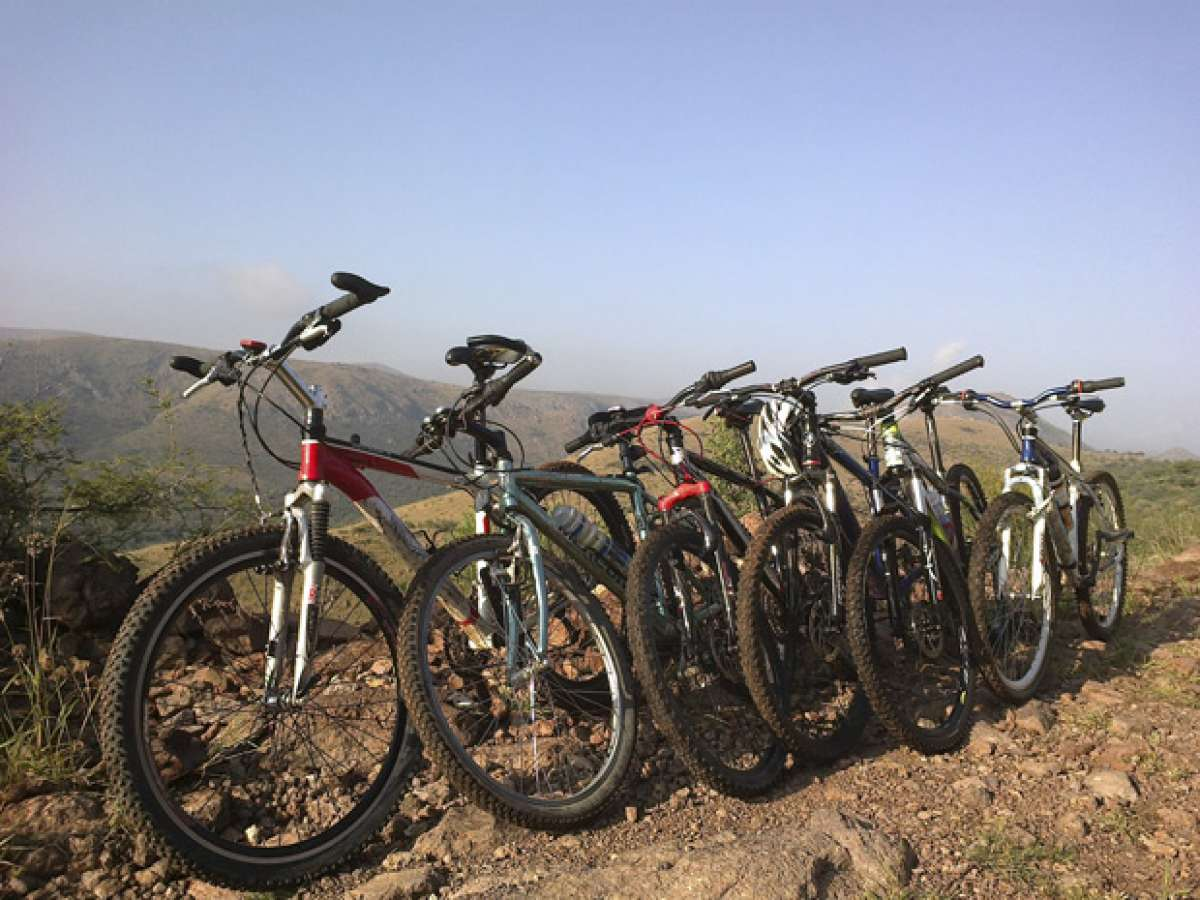 La foto del día en TodoMountainBike: 'Las Bicis en Equipo'