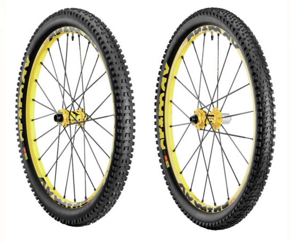 Mavic y Hutchinson se asocian para desarrollar nuevos sistemas de neumáticos para bicicletas