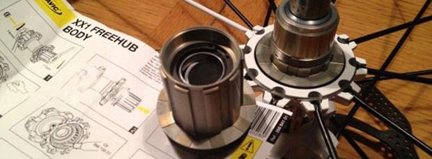 Nuevo núcleo Mavic XD compatible con el grupo SRAM XX1 de 1x11 velocidades