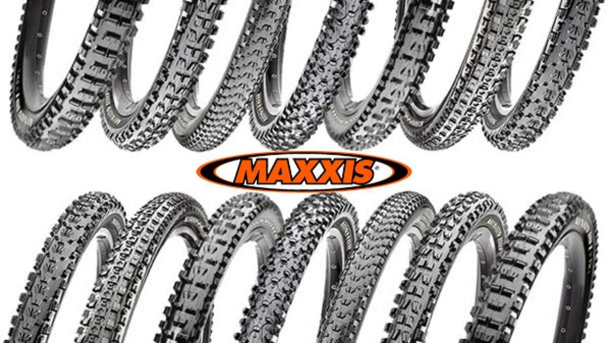 Ampliación para la gama de cubiertas Tubeless Ready de Maxxis