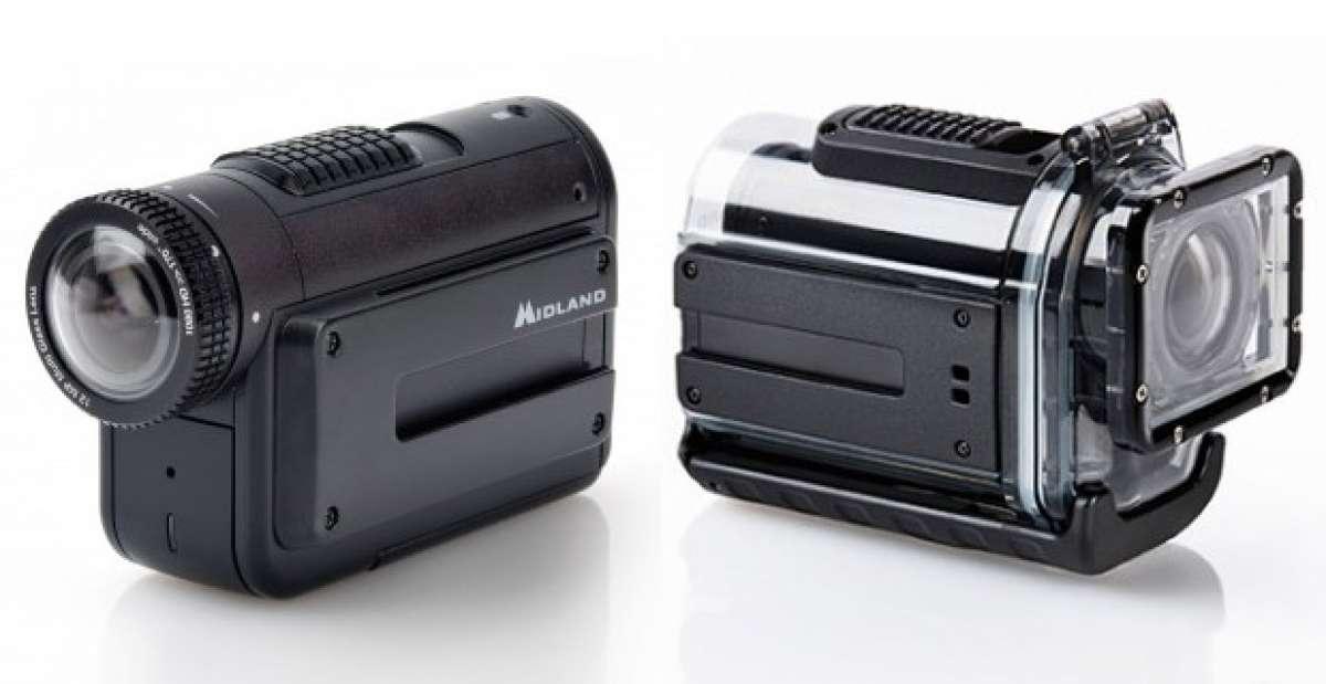 Las interesantes cámaras deportivas de acción Midland XTC400, XTC285 y XTC280