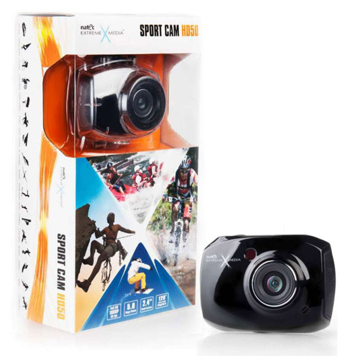 Natec Sport Cam HD50: Una cámara deportiva de altas prestaciones y bajo precio