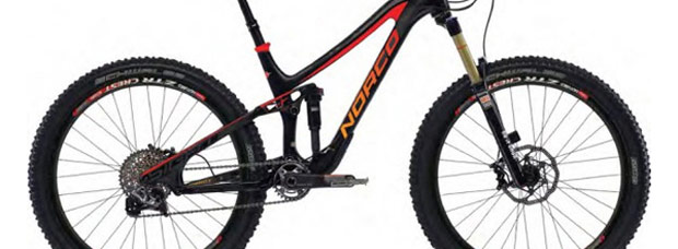 La nuevas bicicletas Norco con ruedas de 27.5 pulgadas de la temporada 2014
