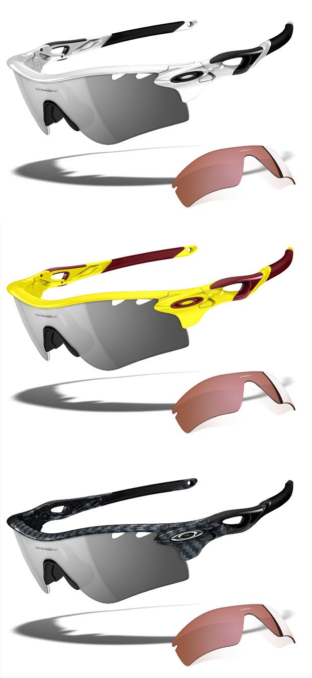 Nuevas lentes fotocromáticas para las gafas Oakley Radarlock Path