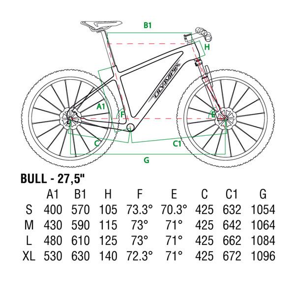 Olympia Bull: Una bicicleta con ruedas de 27.5 pulgadas muy, pero que muy apetecible