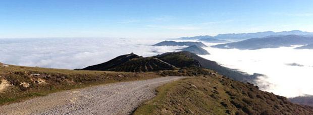La foto de la semana en TodoMountainBike: 'El Palo de San Cipriano (Cantabria, España)'