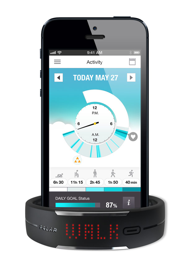 Polar Loop: La nueva pulsera para medir nuestra actividad diaria (y deportiva) de Polar