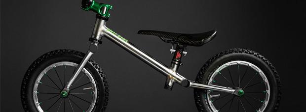 Portus Greenhorn: La bicicleta de montaña más ligera del mundo... para niños