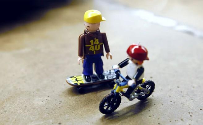 Video: 'Toy Time', un divertido video sobre bicicletas y juguetes