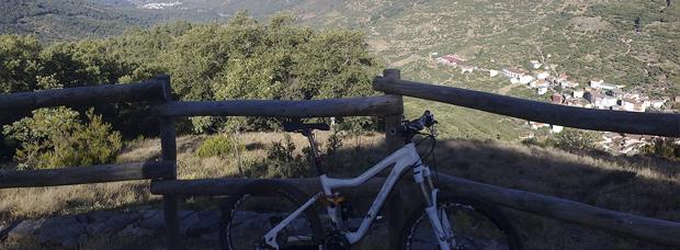 La foto del día en TodoMountainBike: 'El valle del Jerte (Extremadura)'