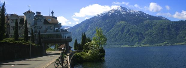 La foto del día en TodoMountainBike: 'A orillas del lago de Zug (Suiza)'