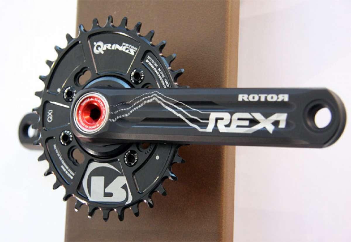 Nuevas bielas Rotor Rex y nuevos platos Rotor QX Q-Ring para 2014