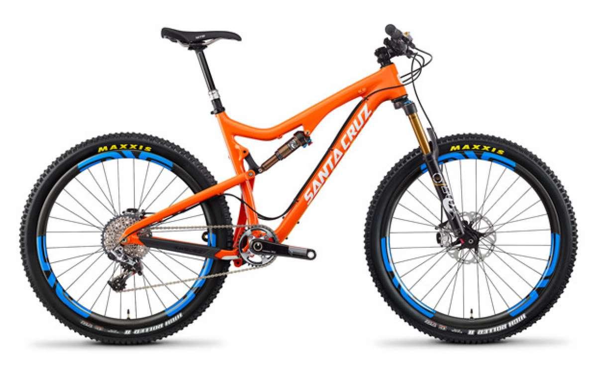 La nueva Santa Cruz Solo con ruedas de 27.5 pulgadas de 2014