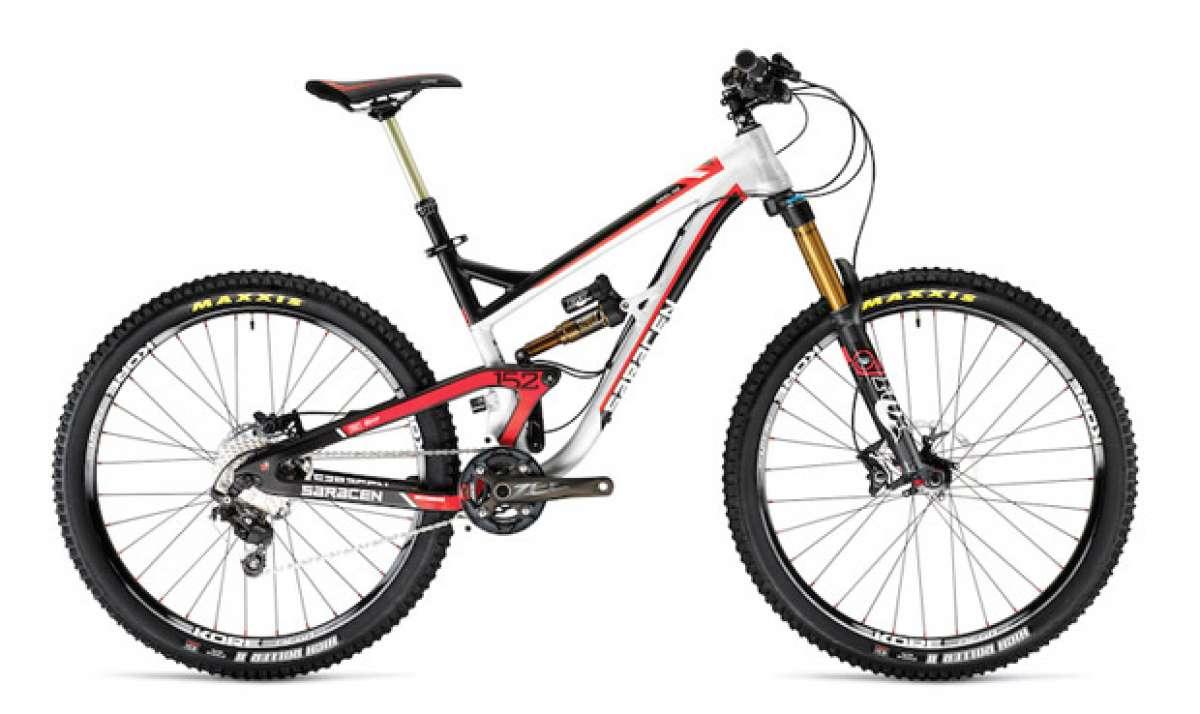 Nueva Saracen Ariel con ruedas de 27.5 pulgadas para 2014
